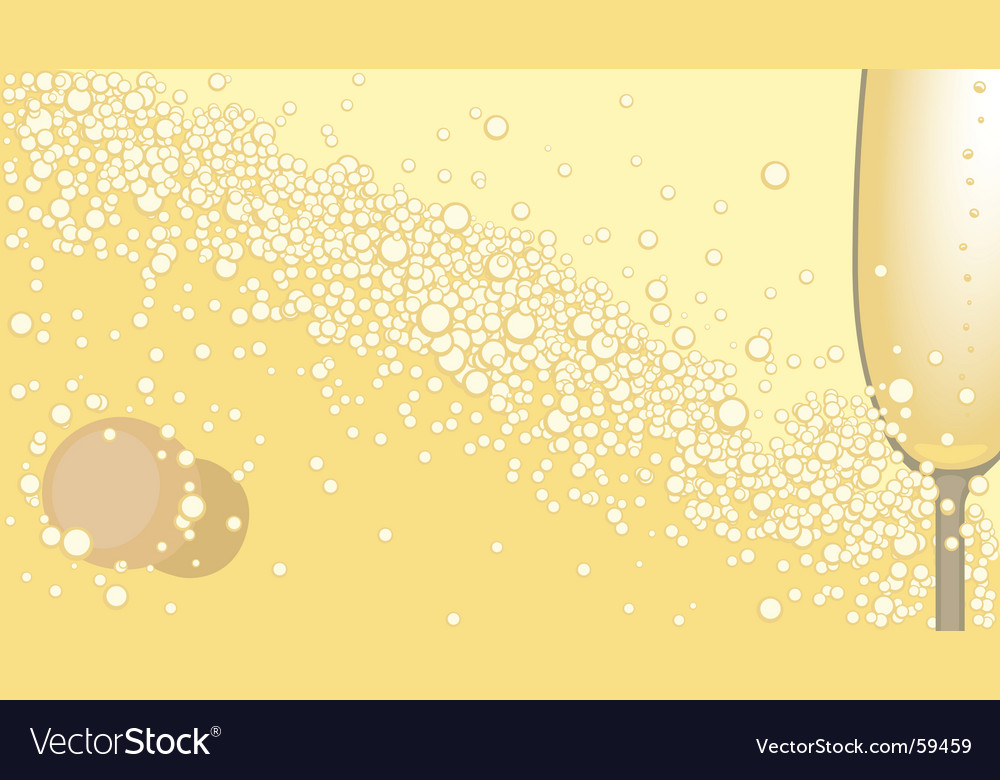 Champagne background vector | Price: 1 Credit (USD $1)