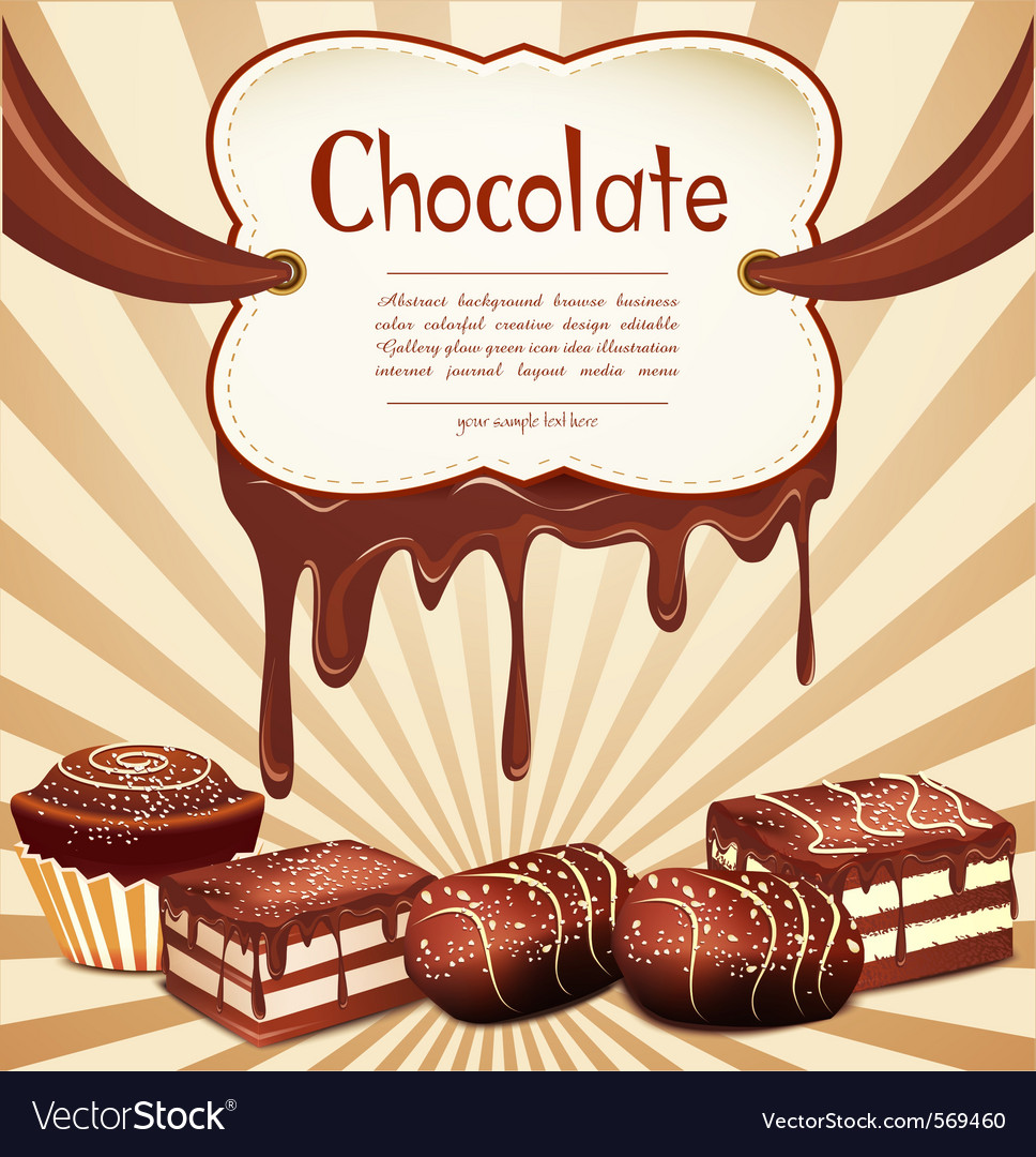 Chocolate candy vector | Price: 1 Credit (USD $1)