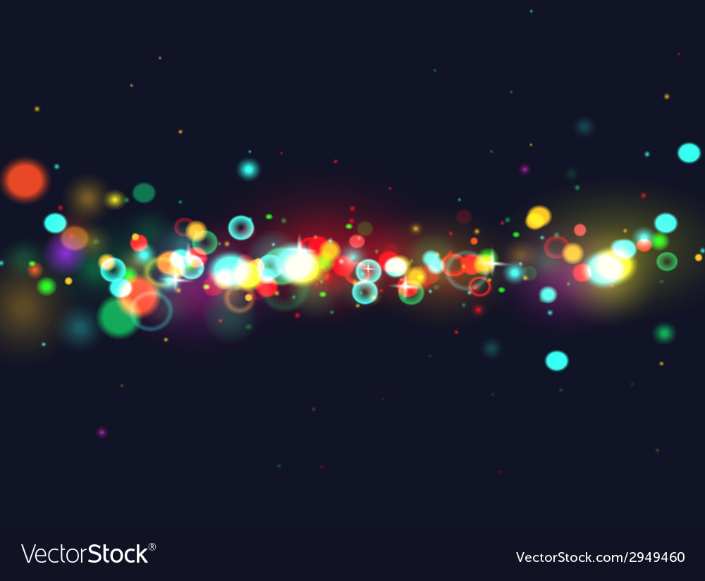 Colourfull bokeh background vector | Price: 1 Credit (USD $1)