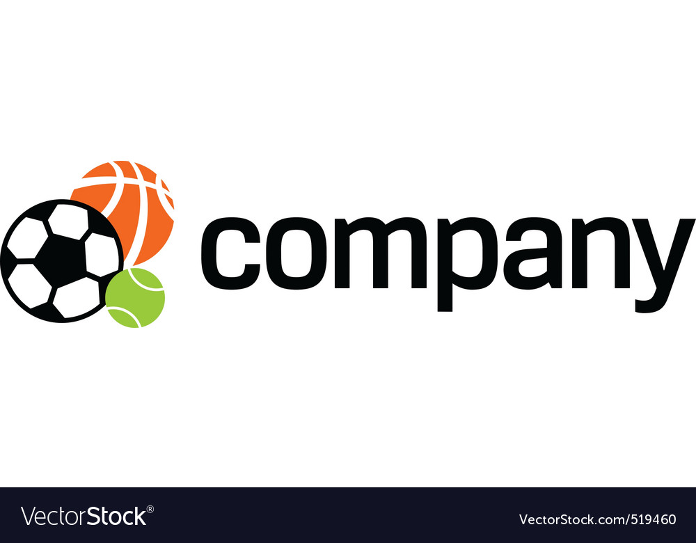 Logo of sports ball vector | Price: 1 Credit (USD $1)