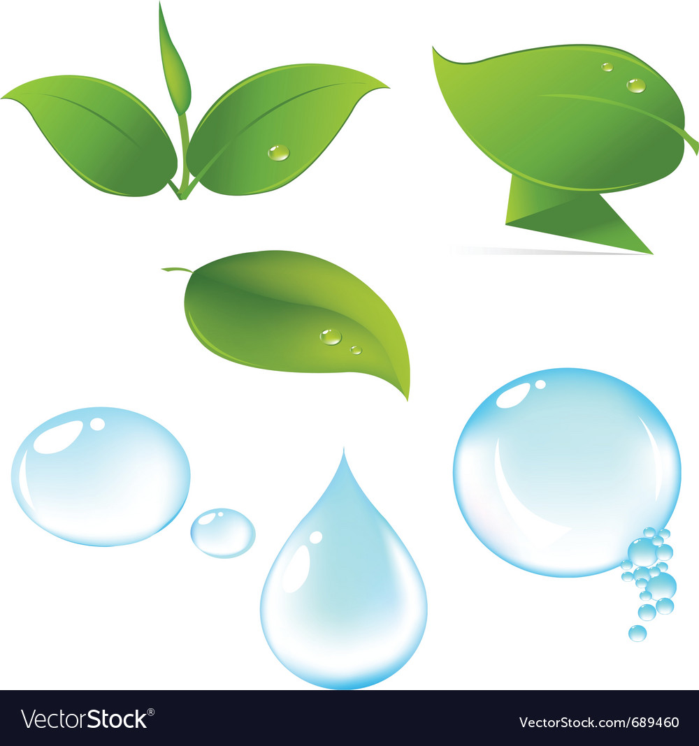 Nature set vector | Price: 1 Credit (USD $1)