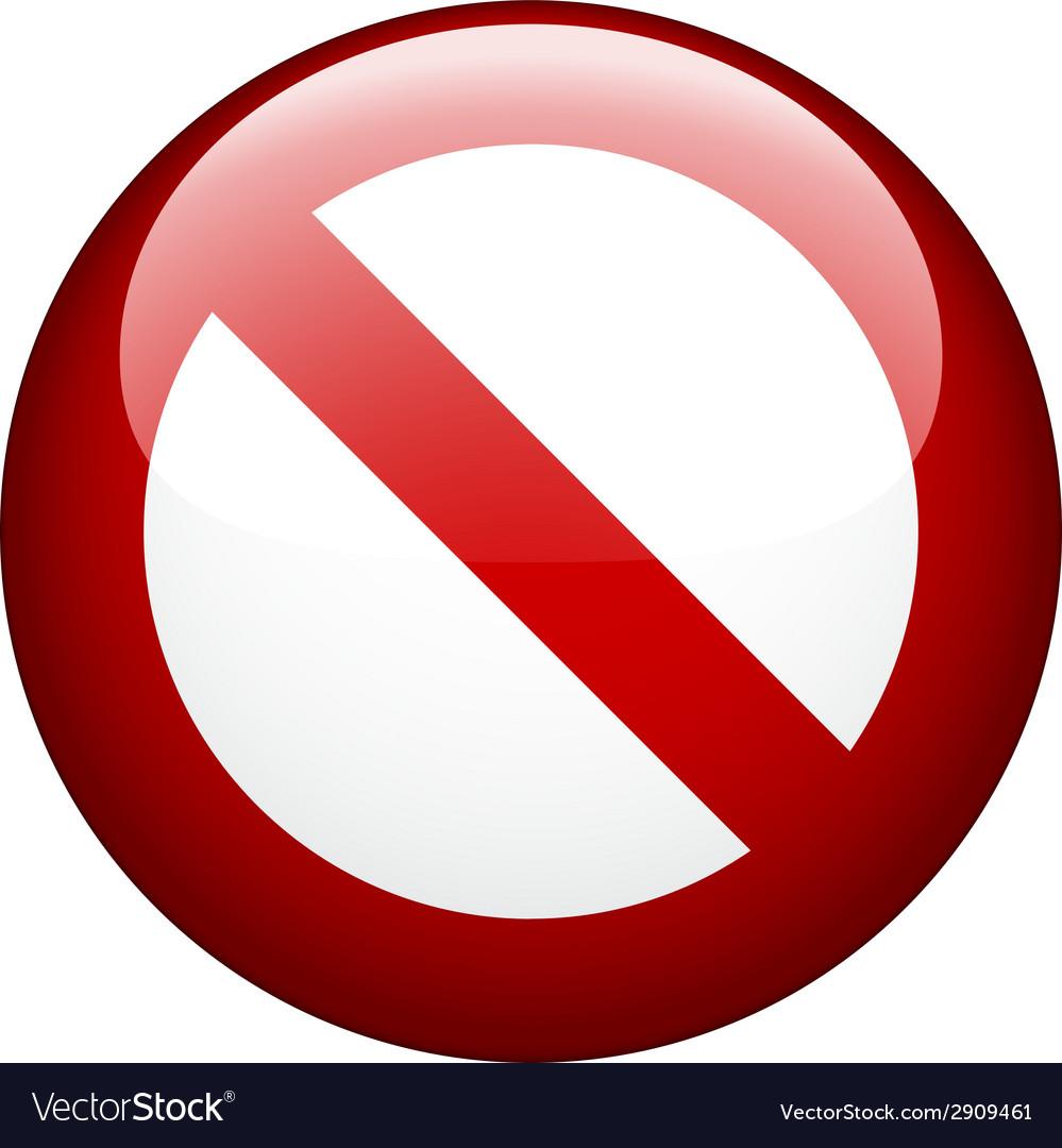 Blank ban vector   Price: 1 Credit (USD $1)