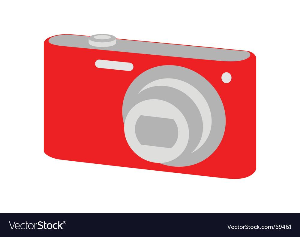 Digital camera vector   Price: 1 Credit (USD $1)
