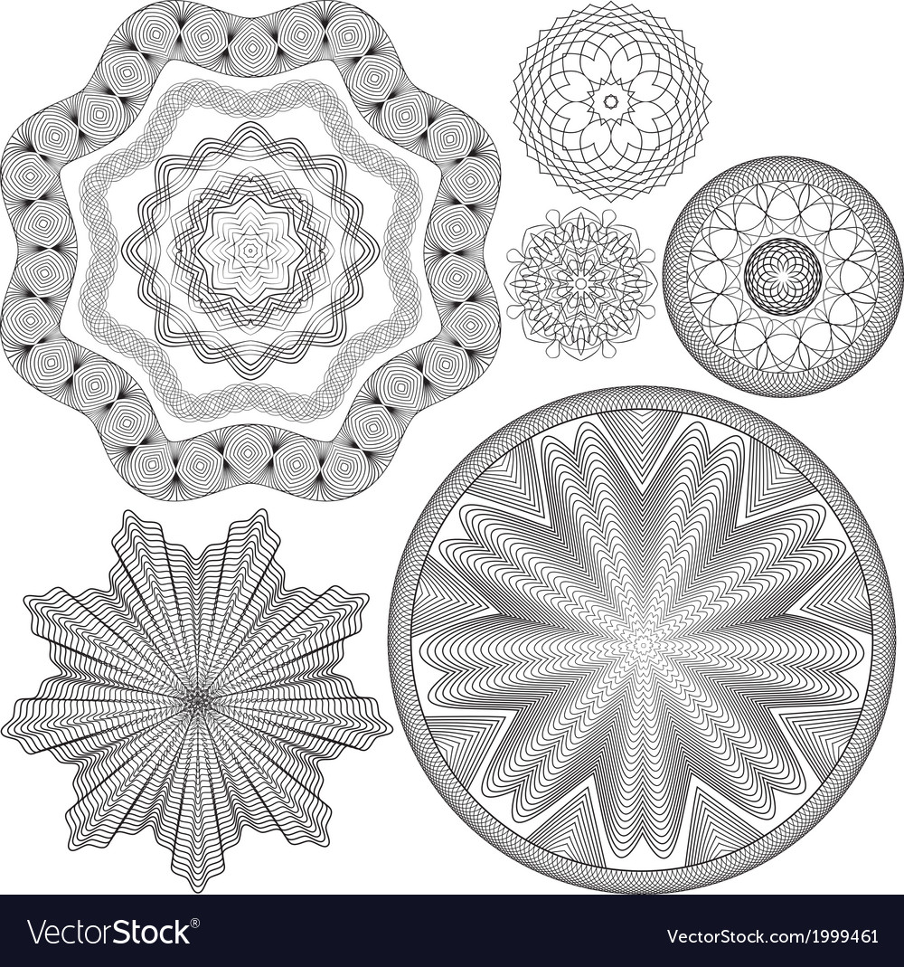 Sertif ornament round 5 380 vector | Price: 1 Credit (USD $1)