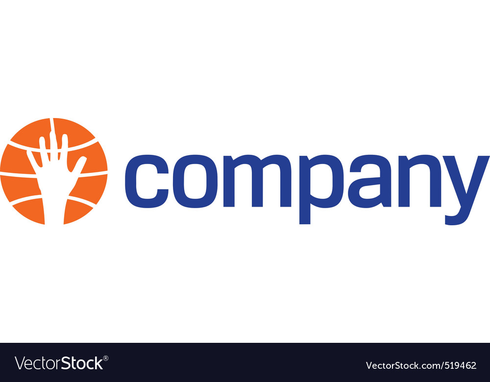 Basketball sport ball logo vector | Price: 1 Credit (USD $1)