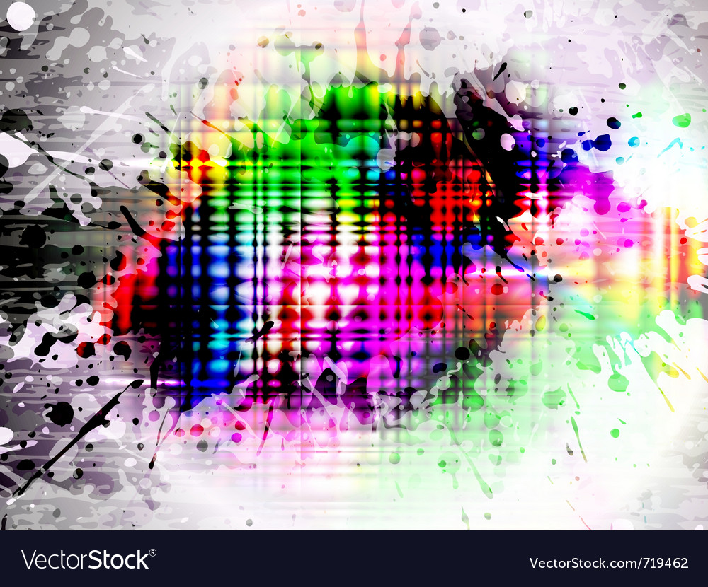 Glowing grunge splash vector | Price: 1 Credit (USD $1)