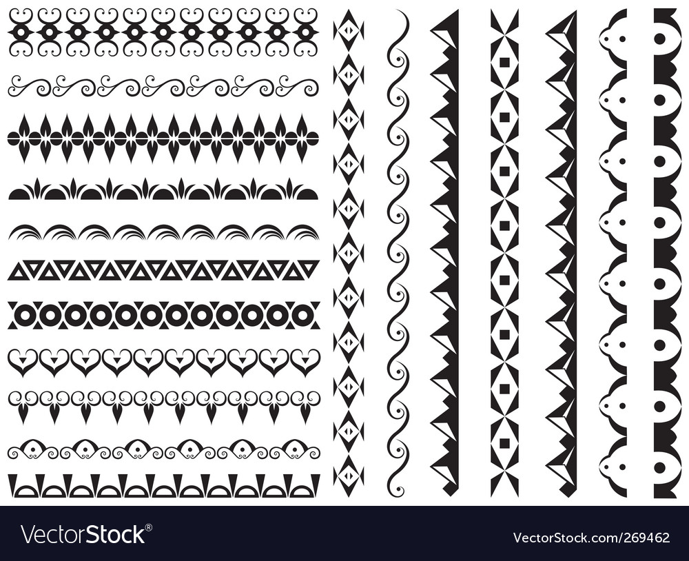 Set of original design element vector | Price: 1 Credit (USD $1)