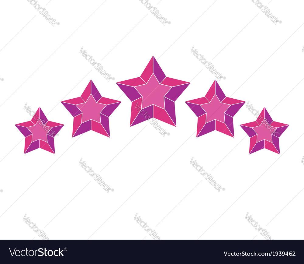 Star pictogram vector | Price: 1 Credit (USD $1)