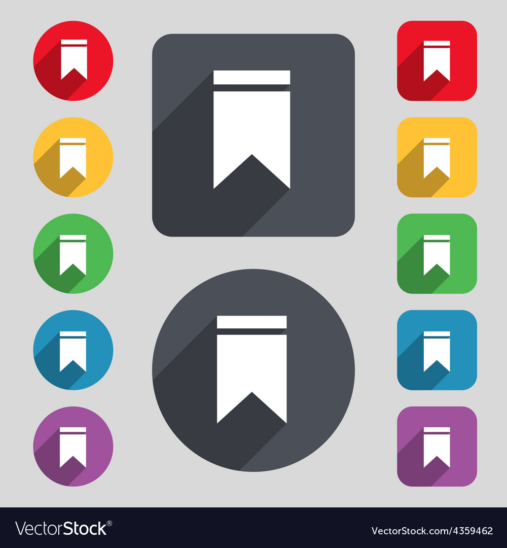 Web stickers tags and banners sale icon sign a set vector | Price: 1 Credit (USD $1)