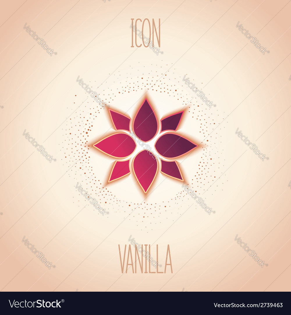 Abstract icon vanilla vector | Price: 1 Credit (USD $1)