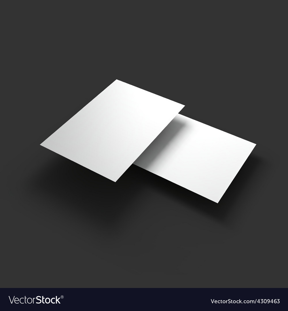Stack of pages with curved corners business vector | Price: 1 Credit (USD $1)