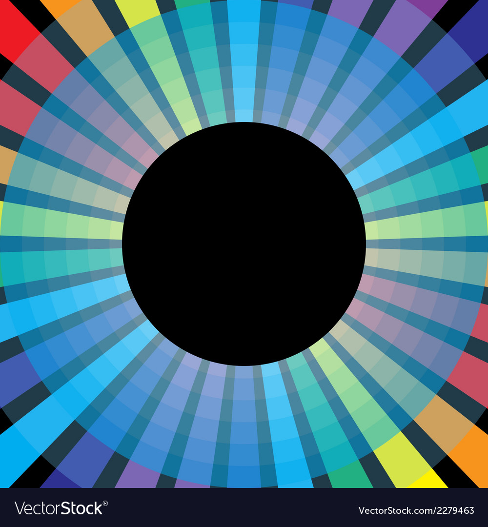 Symbol rainbow circle vector | Price: 1 Credit (USD $1)