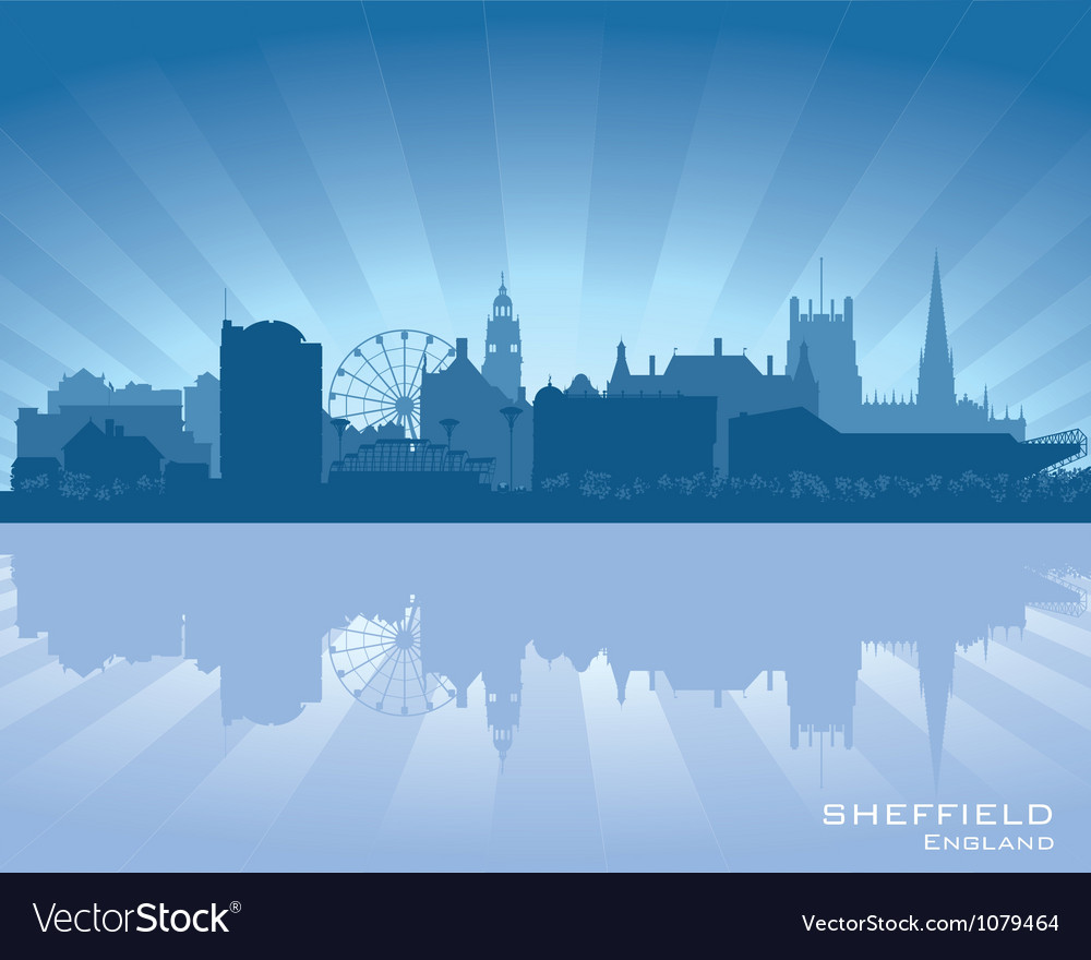 Sheffield england skyline vector | Price: 1 Credit (USD $1)