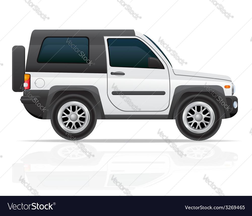 Car jeep off road suv 02 vector | Price: 3 Credit (USD $3)