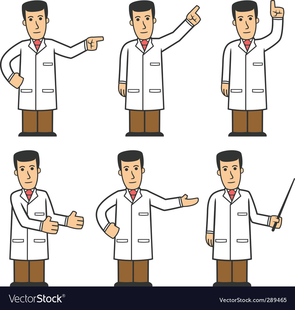 Doctor character set vector   Price: 3 Credit (USD $3)