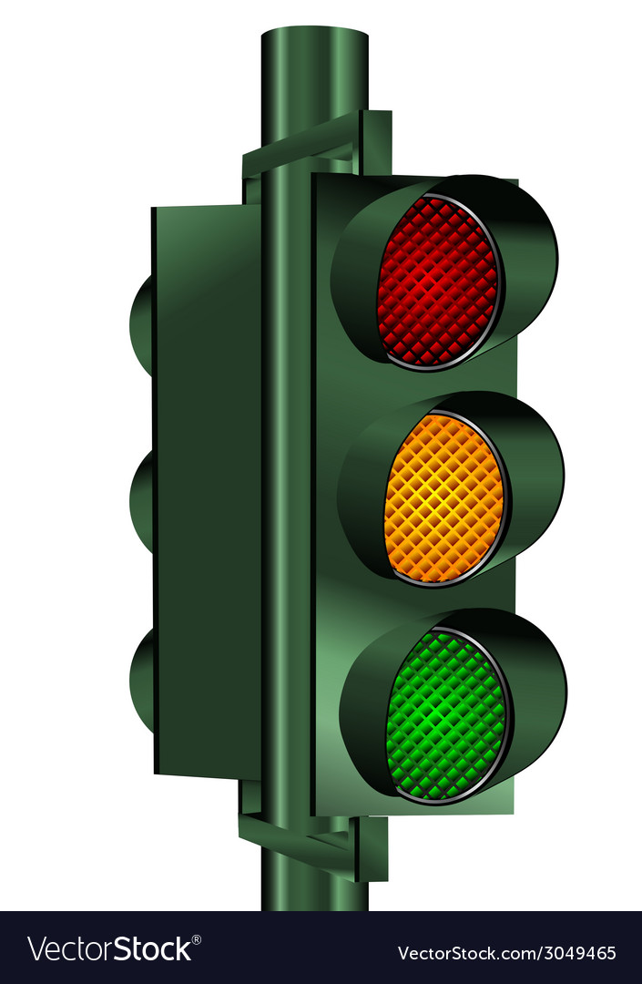 Go traffic light vector | Price: 1 Credit (USD $1)