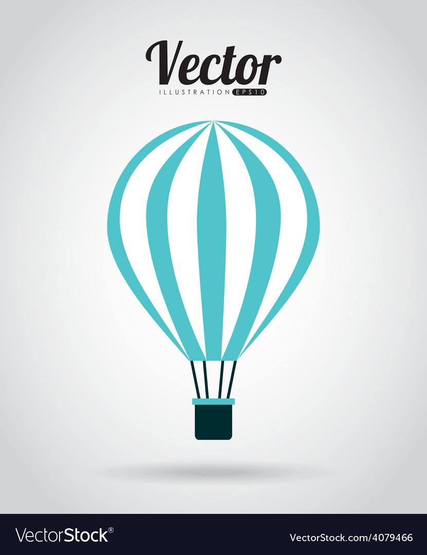 Balloon air design vector | Price: 1 Credit (USD $1)