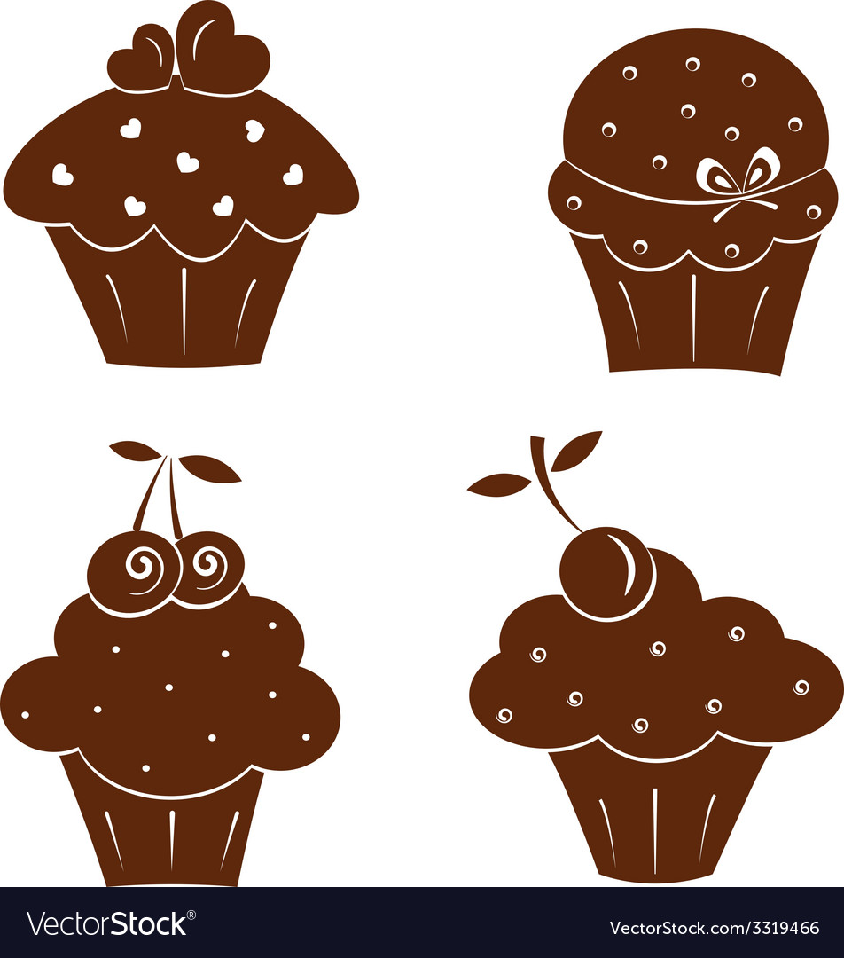Cakes icons vector   Price: 1 Credit (USD $1)