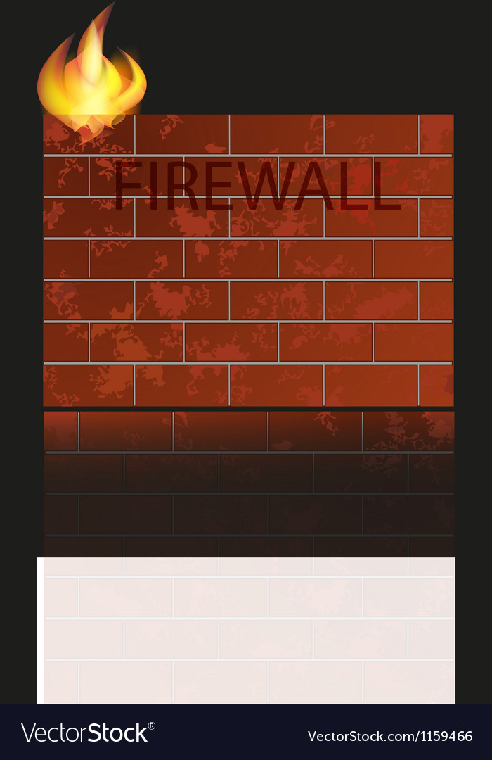 Firewall icon vector | Price: 1 Credit (USD $1)