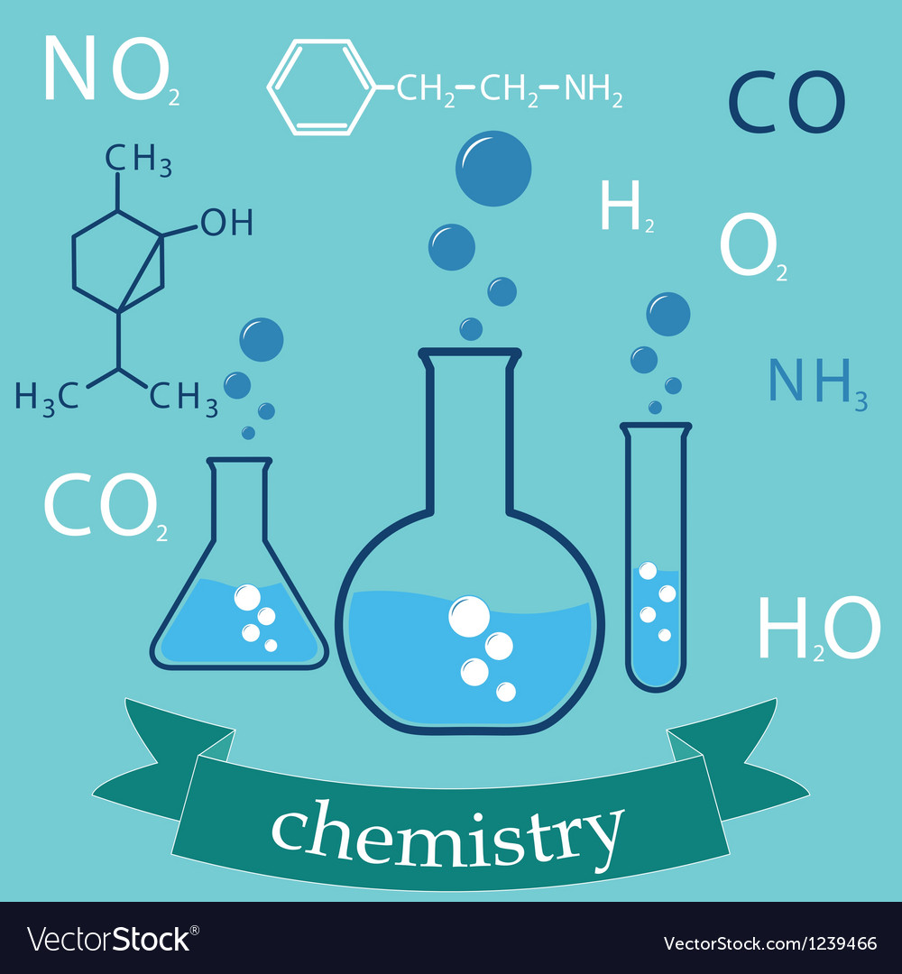 Subject of chemistry vector | Price: 1 Credit (USD $1)
