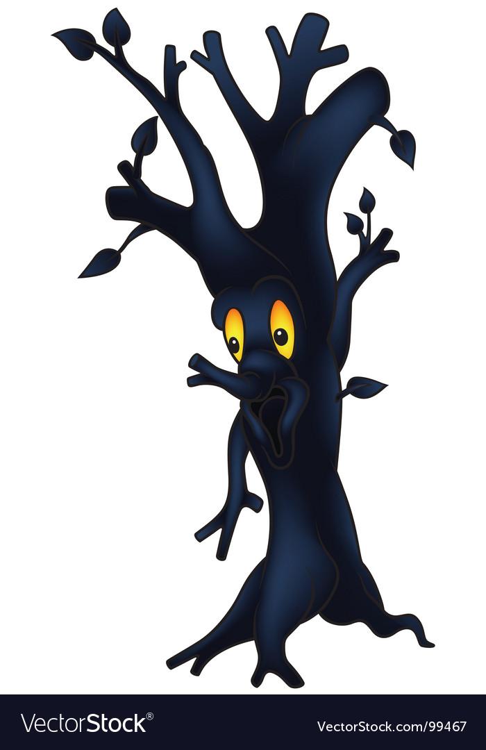Dark tree vector | Price: 1 Credit (USD $1)