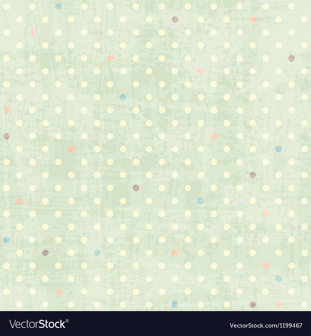 Seamless dots pattern vector | Price: 1 Credit (USD $1)