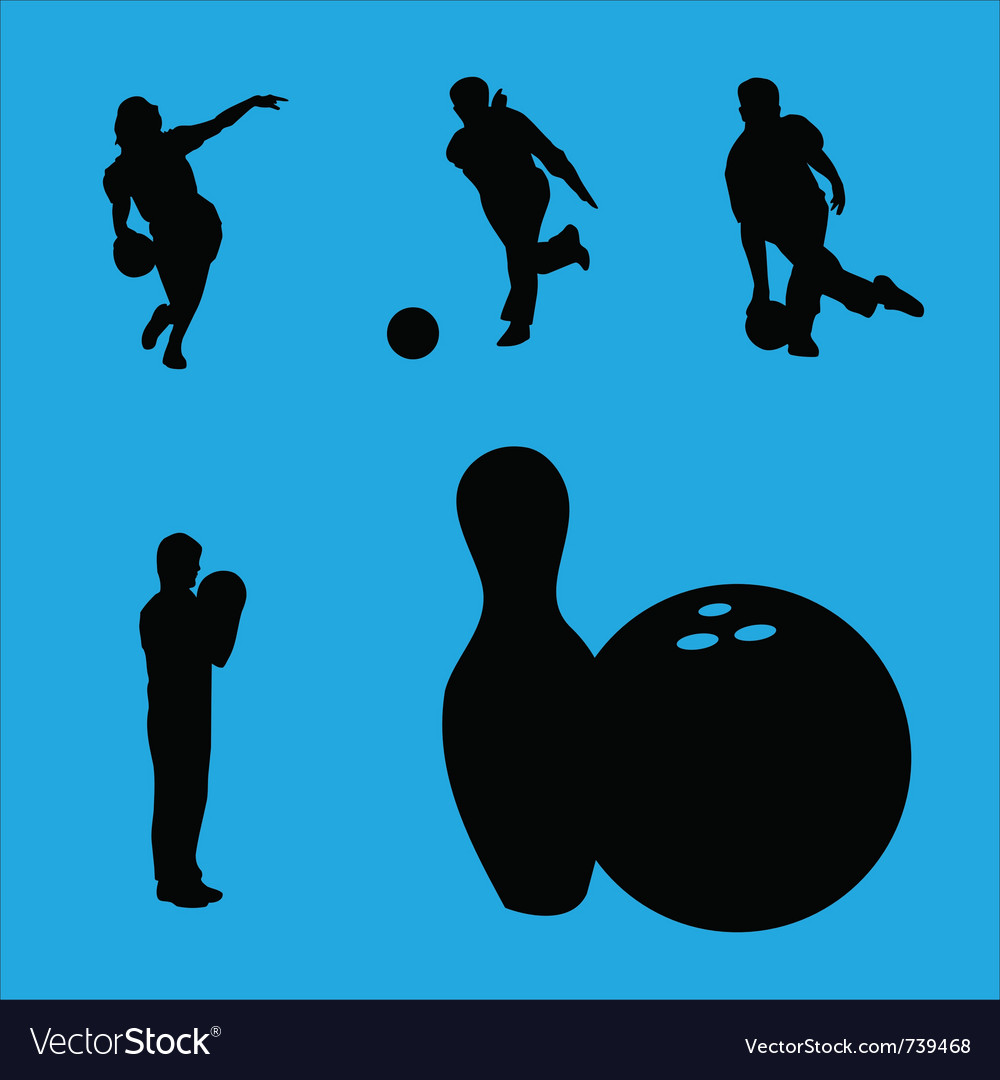 Bowling collection vector | Price: 1 Credit (USD $1)