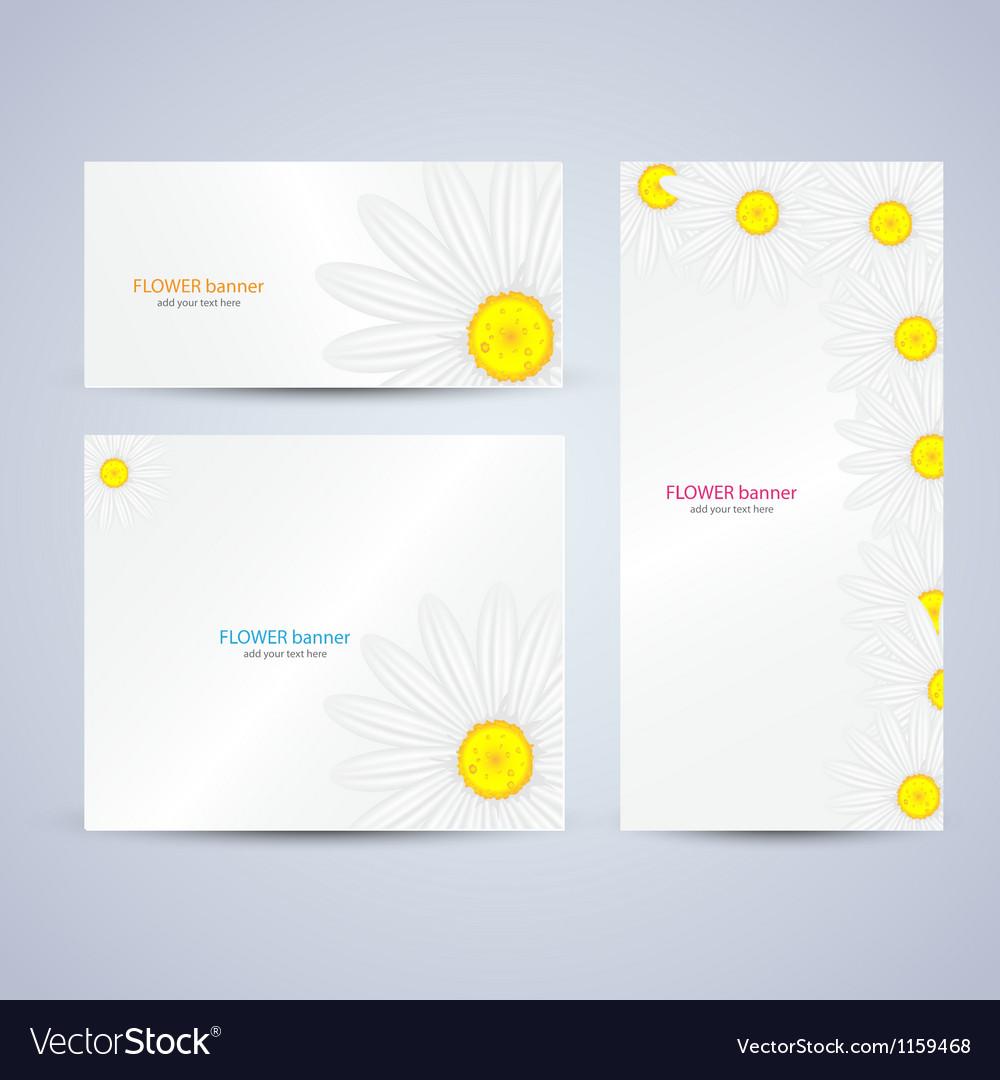 Flowers brochure template vector | Price: 1 Credit (USD $1)
