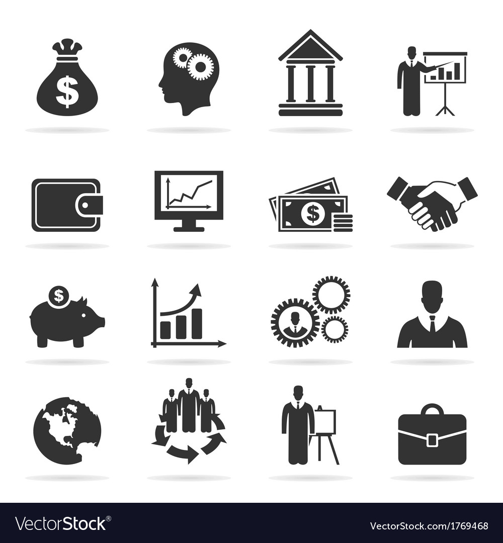 Icon business9 vector | Price: 1 Credit (USD $1)