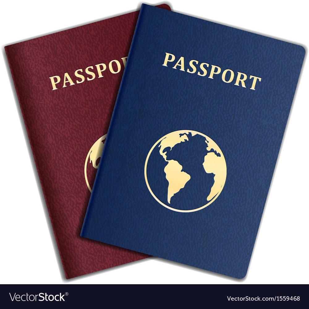 Passport vector | Price: 1 Credit (USD $1)