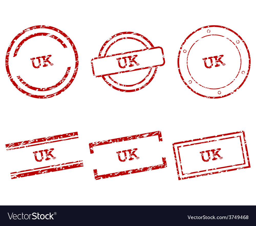 Uk stamps vector | Price: 1 Credit (USD $1)