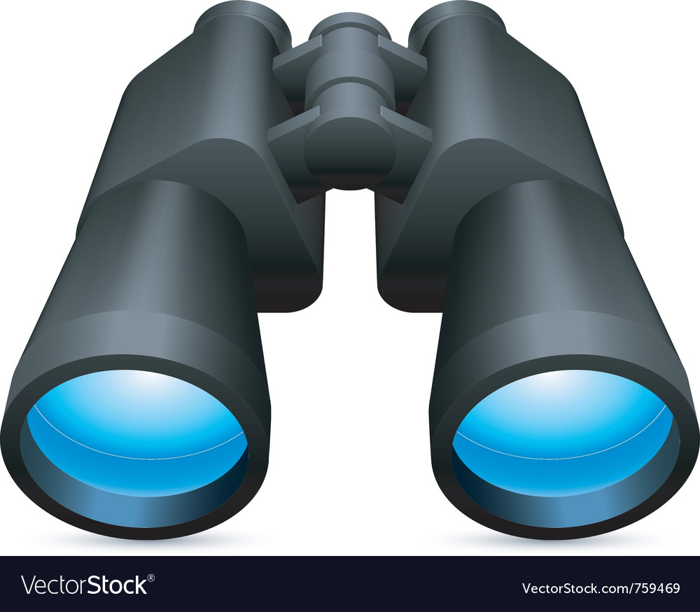 Binoculars vector | Price: 1 Credit (USD $1)