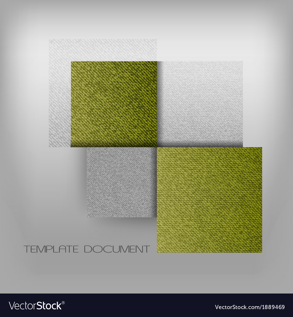 Business four squares green with text grain vector | Price: 1 Credit (USD $1)