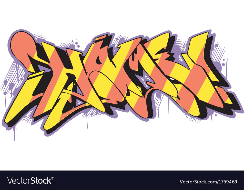 Graffito - home vector | Price: 1 Credit (USD $1)