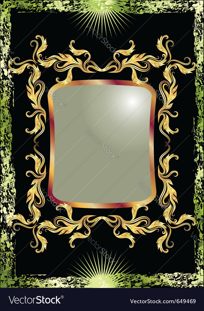 Luxurious ornament vector | Price: 1 Credit (USD $1)