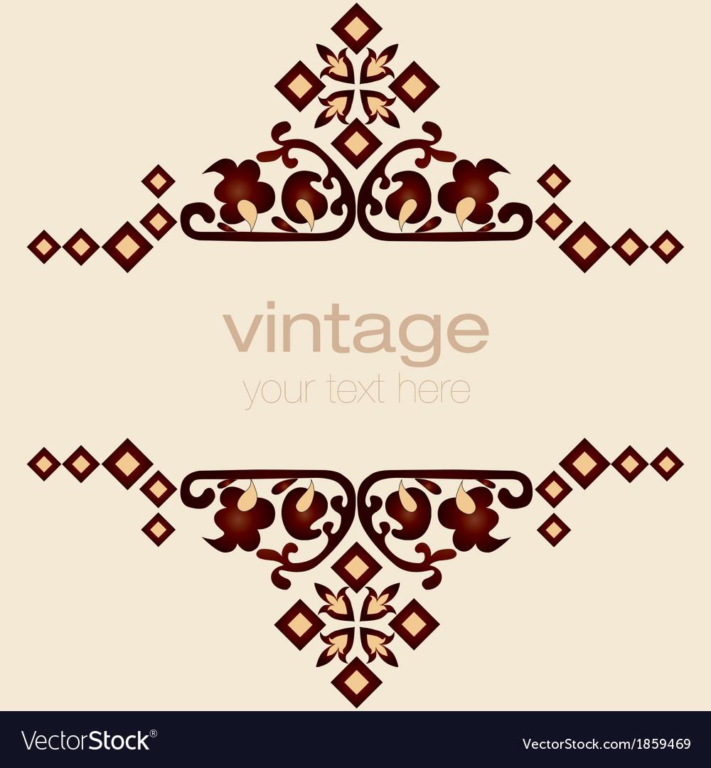 Ornate vintage frames eight vector | Price: 1 Credit (USD $1)
