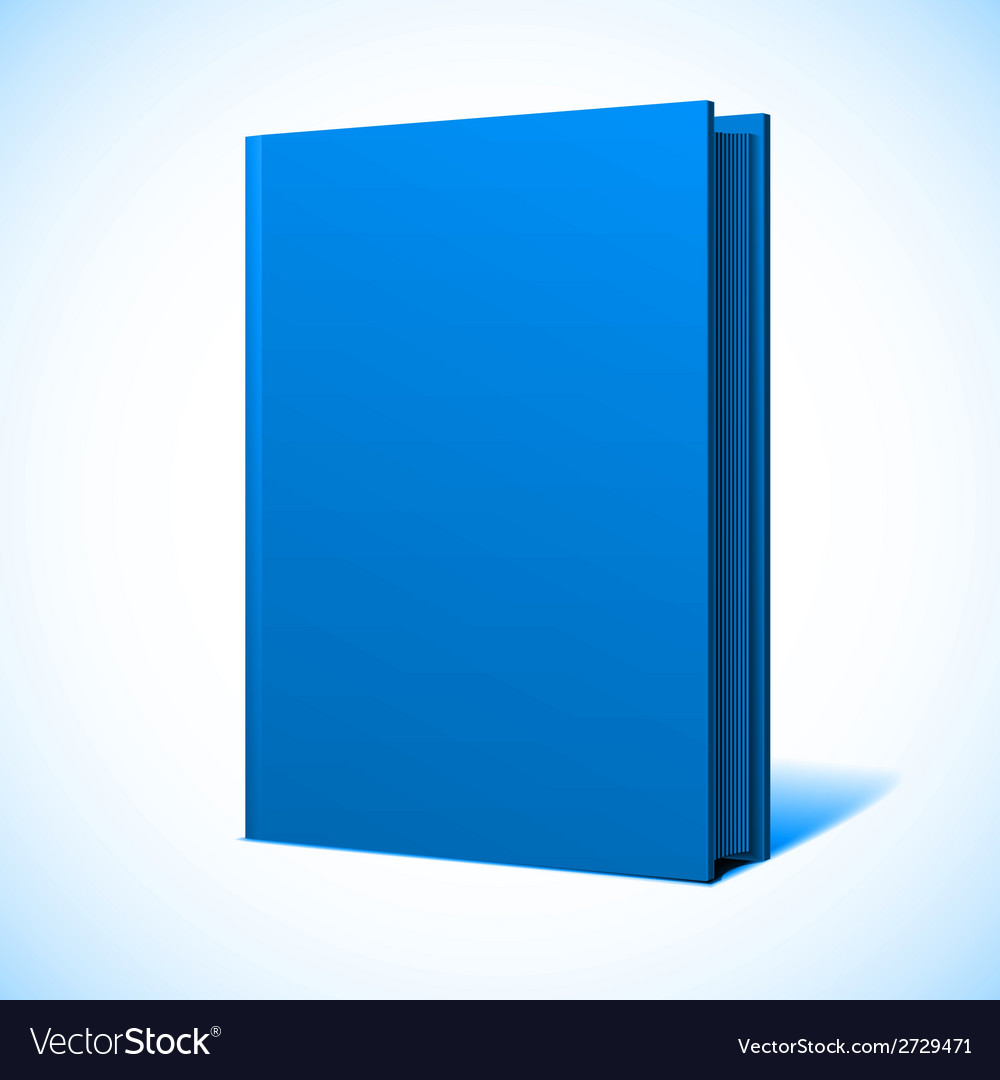 Blank book cover vector   Price: 1 Credit (USD $1)