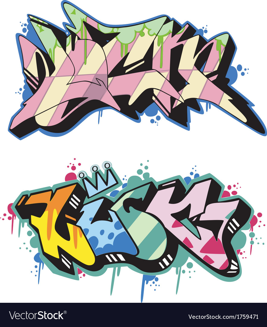 Graffito - luck vector | Price: 1 Credit (USD $1)
