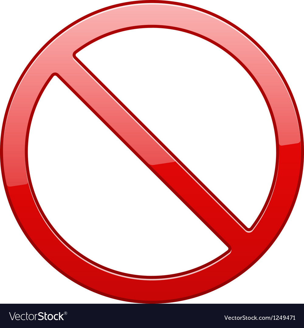 No sign vector | Price: 1 Credit (USD $1)