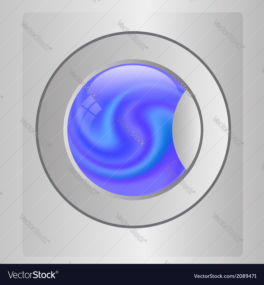 Washing mashine vector | Price: 1 Credit (USD $1)