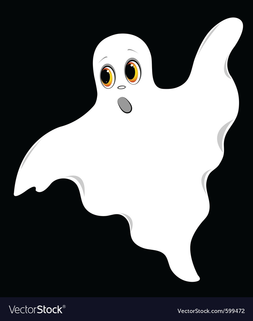Flying ghost vector | Price: 1 Credit (USD $1)