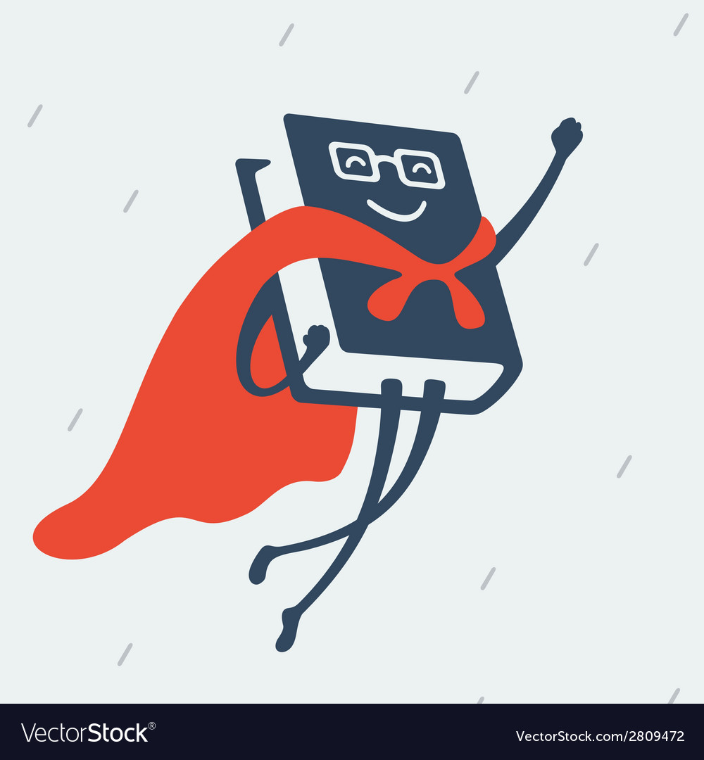 Great book flies to the rescue vector | Price: 1 Credit (USD $1)