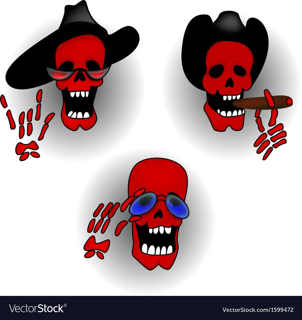 Halloween skeleton vector | Price: 1 Credit (USD $1)