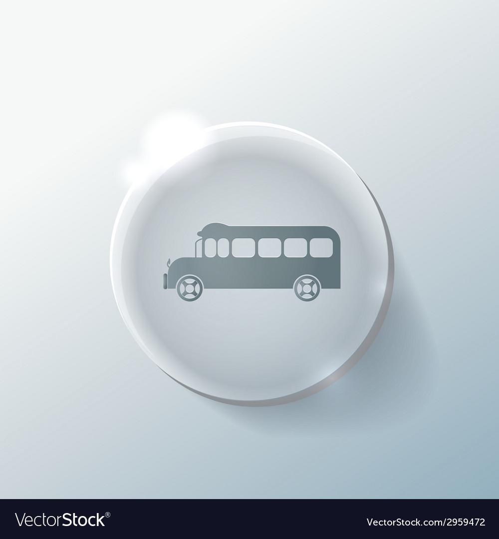 School bus symbol study icon transport vector   Price: 1 Credit (USD $1)