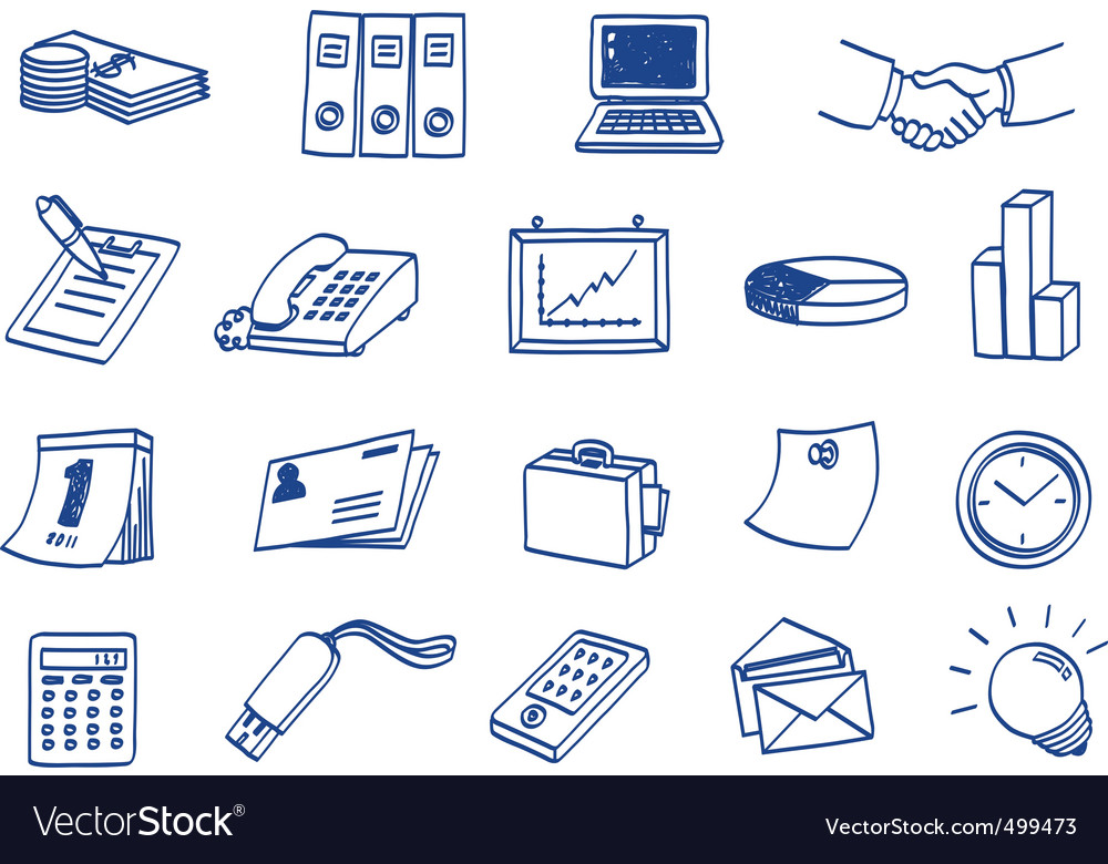 Business icon vector | Price: 1 Credit (USD $1)