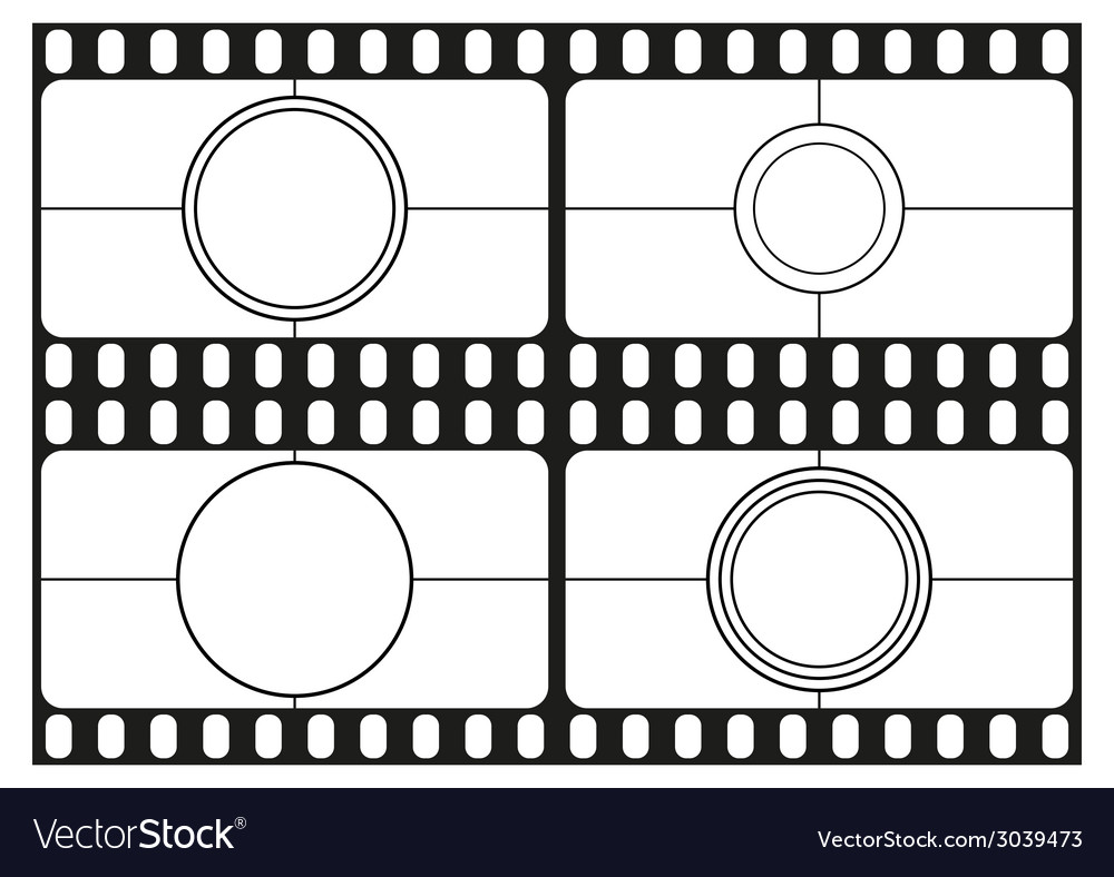 Film countdown templates movie theater frame vector | Price: 1 Credit (USD $1)
