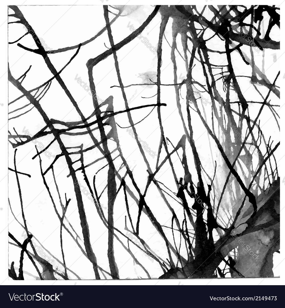 Grunge paint ink blot background vector   Price: 1 Credit (USD $1)