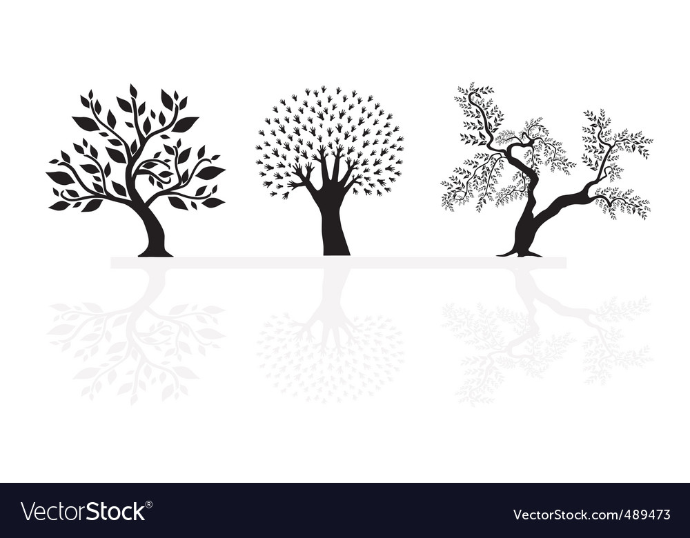 Set of abstract trees vector   Price: 1 Credit (USD $1)