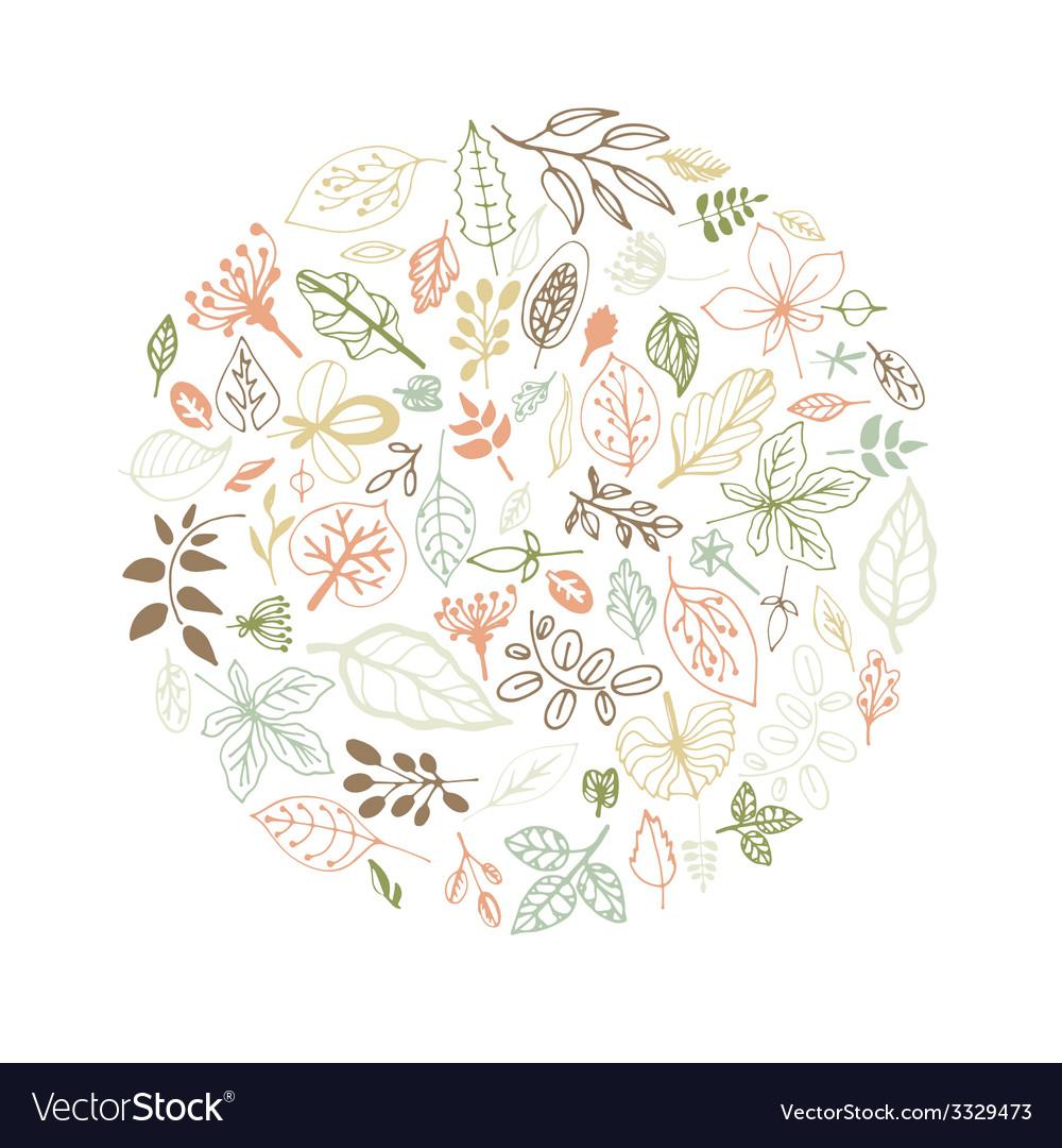 Springleaves3 vector | Price: 1 Credit (USD $1)