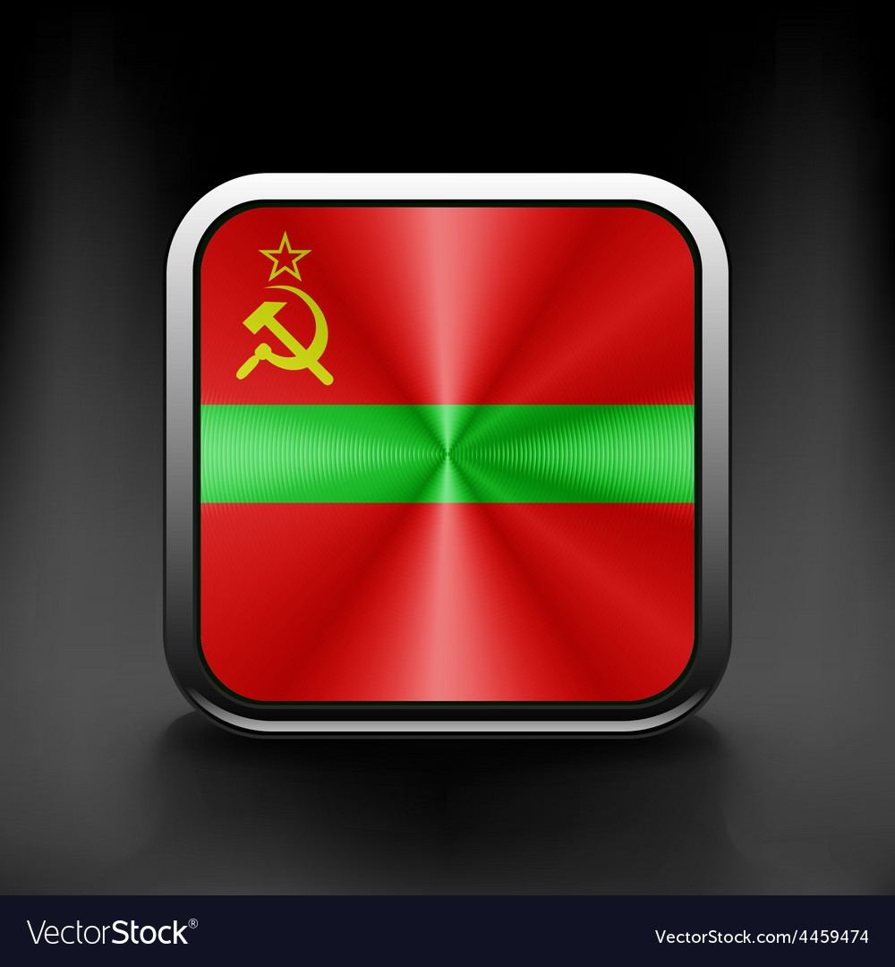 Flag of transnistria country icon symbol emblem vector | Price: 1 Credit (USD $1)